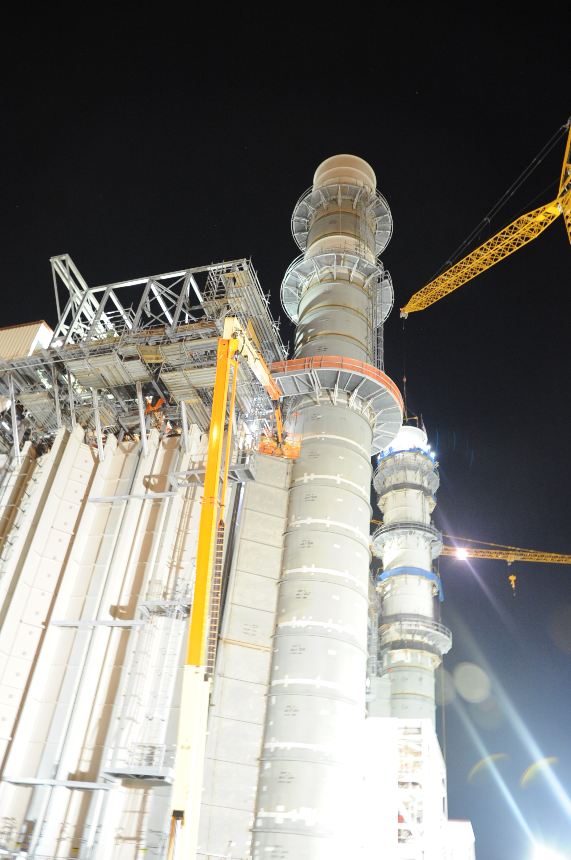 Steel Stack Construction