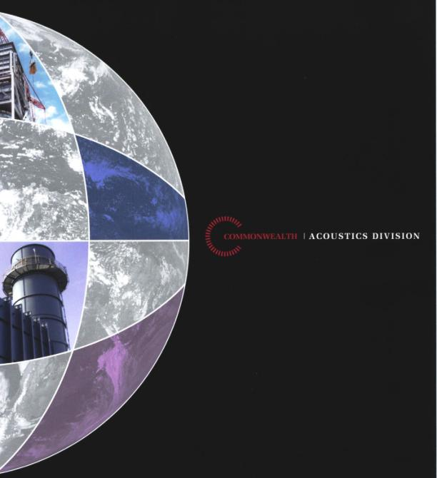 Acoustics Brochure Cover