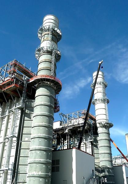 XCEL Energy Cherokee Steel Chimney Case Study