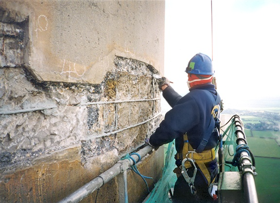 Concrete Chimney Repairs & Maintenance