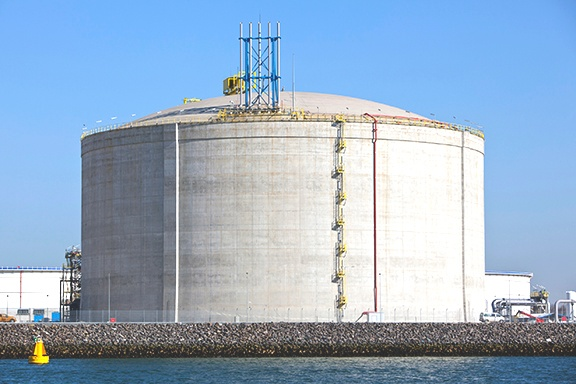 LNG Tank Construction