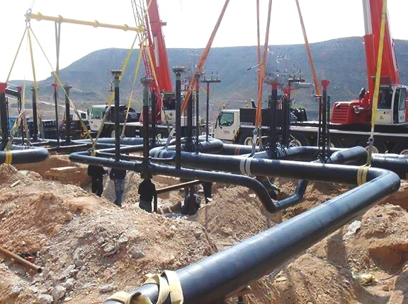 Industrial Plant Pipeline Systems