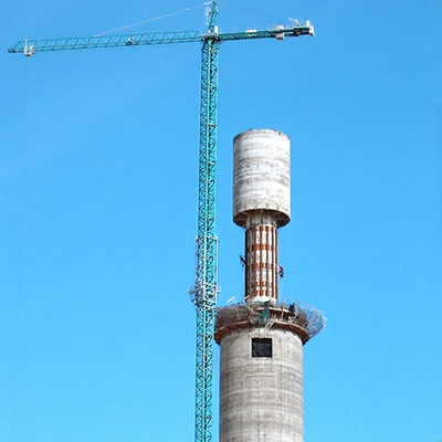 Solar Towers Construction